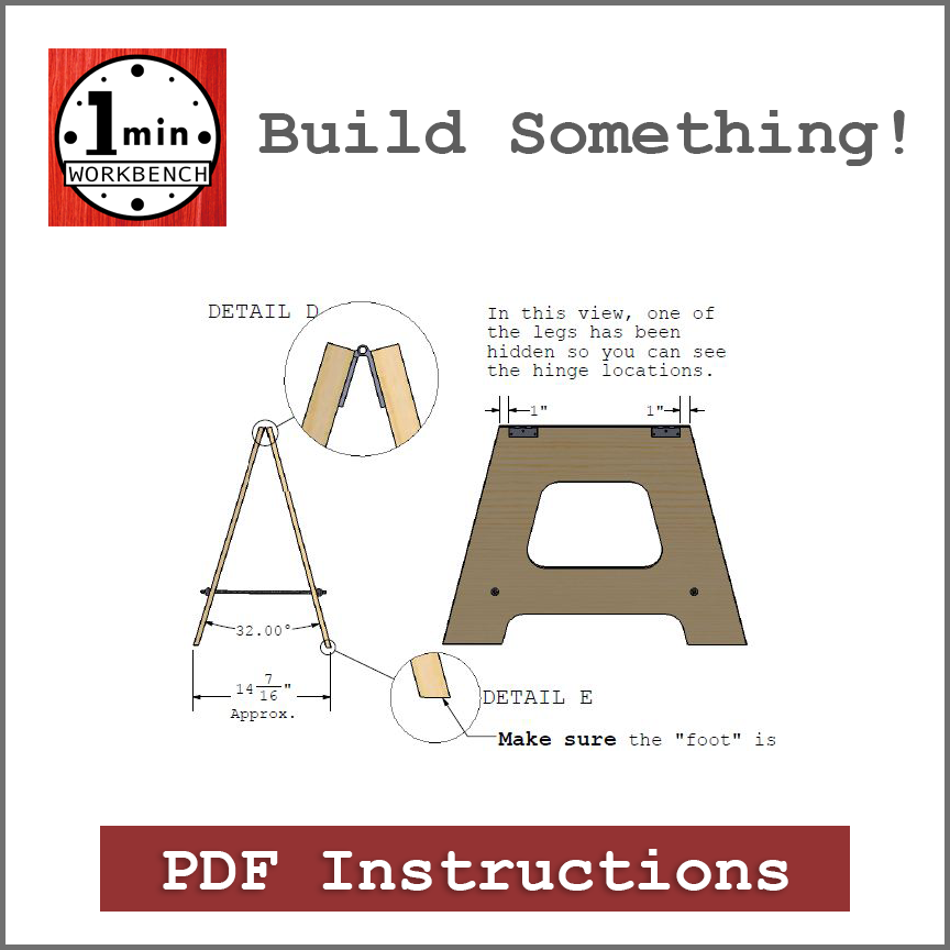 Product Category Icon Building Instructions One Minute Workbench