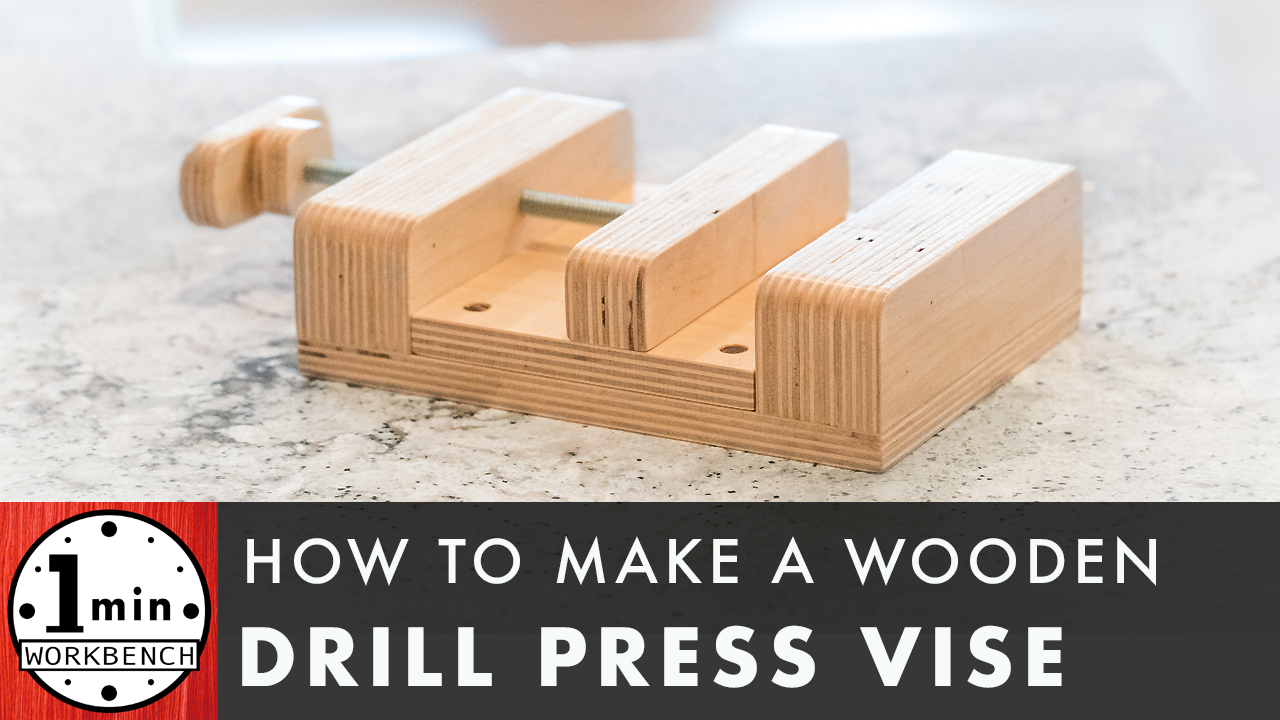 Enjoyable How To Make A Wooden Drill Press Vise One Minute Workbench Frankydiablos Diy Chair Ideas Frankydiabloscom